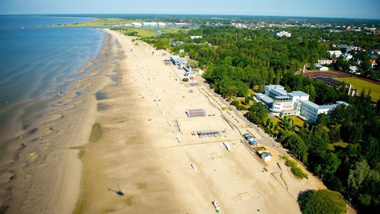 Пярну – главный курорт Эстонии