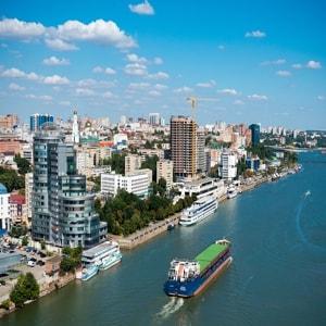 Красивый город Ростов на Дону и его достопримечательности.