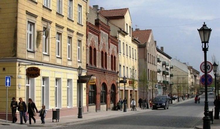Старый город - главная достопримечательность в Кайпеде.
