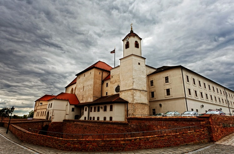 Замок Шпильберг, историческая достопримечательность Брно.