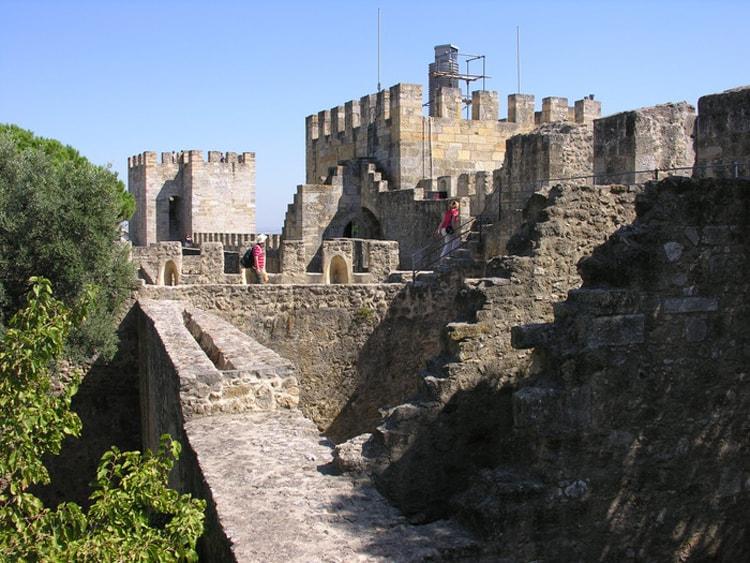 Замок святого Георгия.