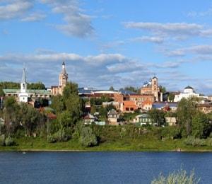 Город Касимов и его главные и интересные достопримечательности.