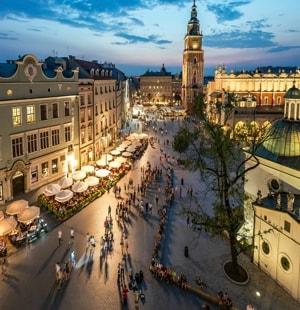 Краков – королевский город в Польше и его достопримечательности с фото и описанием.