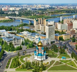 Самые интересные достопримечательности Омска с их описанием и фото.