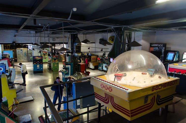 Музей советских игровых автоматов - достопримечательность Александрова, где есть на что посмотреть туристам.