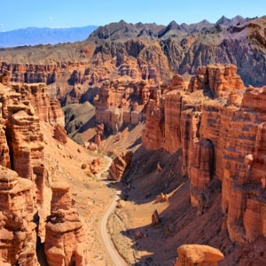 Чарынский каньон и его самые интересные места, которые стоит посетить туристу.