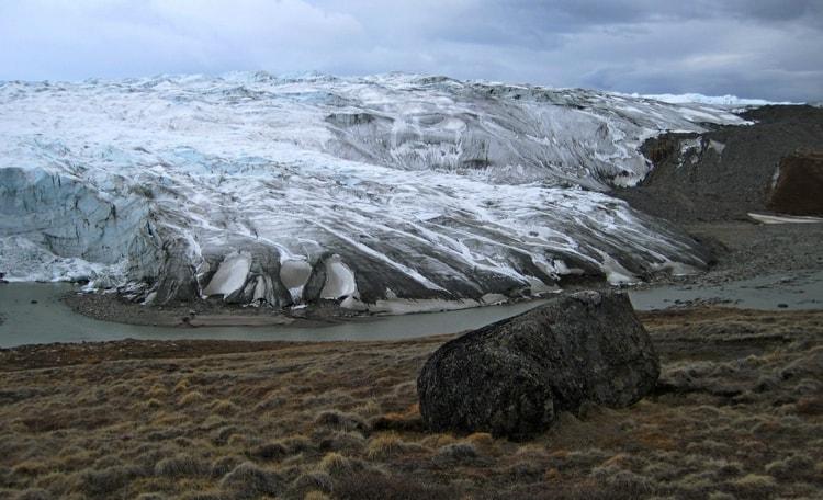 Рудянский Спой и был подвержен действию ледника, ветра и воды.