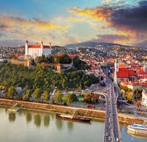 Самые главные достопримечательности Братиславы.