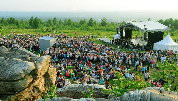 Фестиваль «Тайны Крестовой горы», Каменный город, Пермский край.