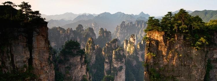 Парк Чжанцзяцзе в Китае знаменит сейчас не только как красивейший национальный лесной парк, но и как место, где снимался нашумевший «Аватар».