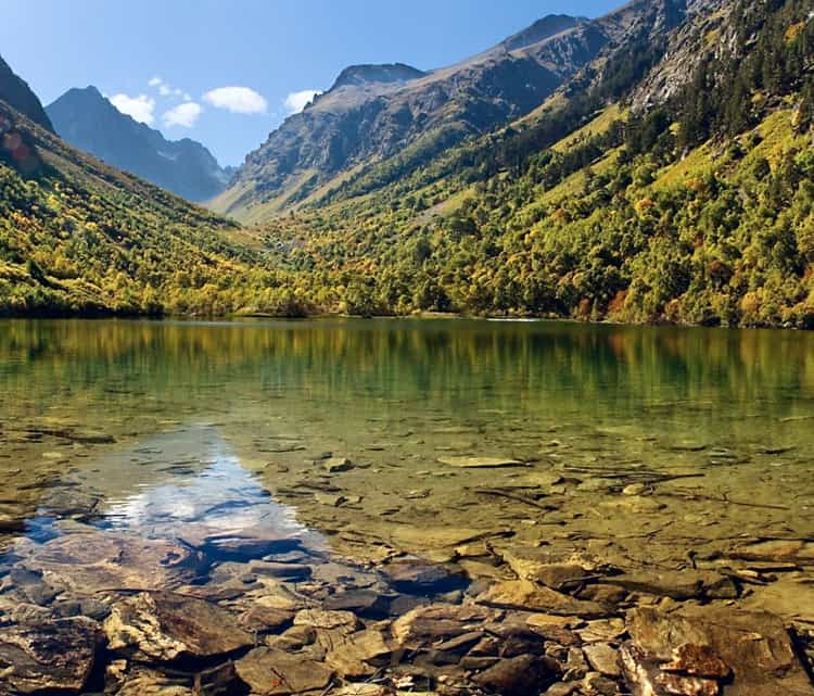 Бадукские озера – самая красивая природная достопримечательность Тебердинского заповедника.