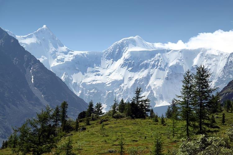 Гора Белуха – самая высокая гора Сибири и Катунского заповедника.