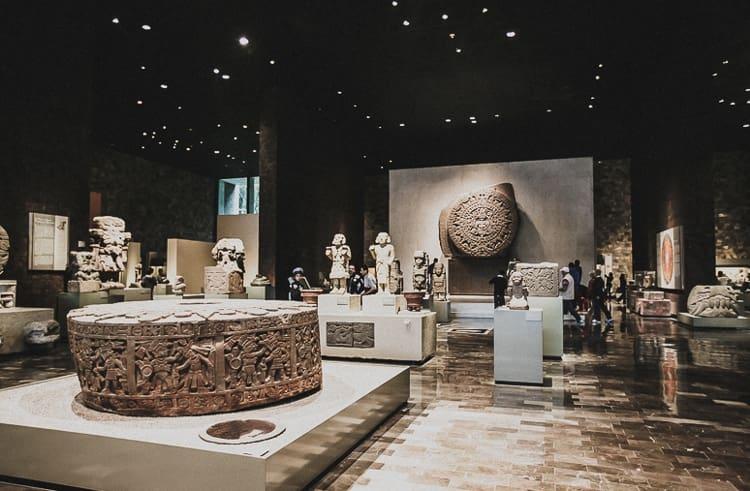 Национальный музей антропологии в Мехико справедливо считается самым популярным музеем Мексики.