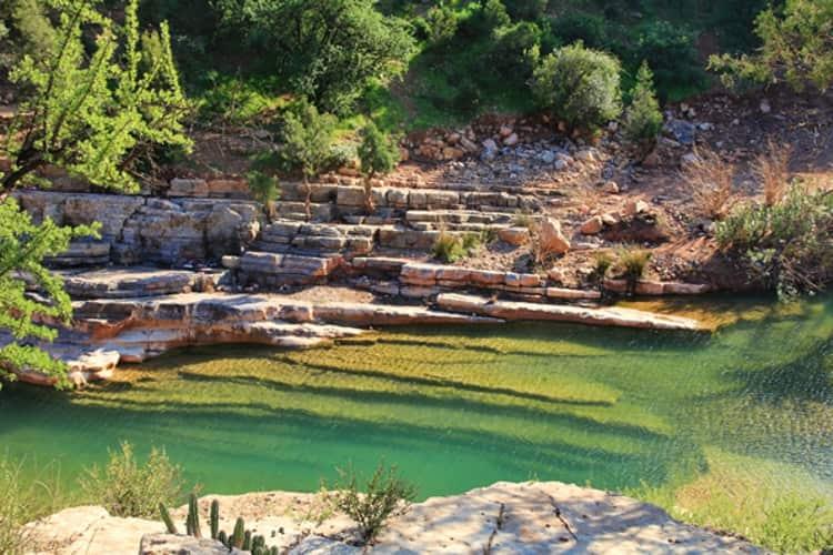 Райская долина – одна из самых известных природных достопримечательностей Марокко.