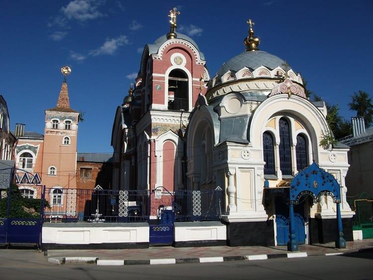 Великокняжеская церковь – одна из главных религиозных достопримечательностей Ельца.