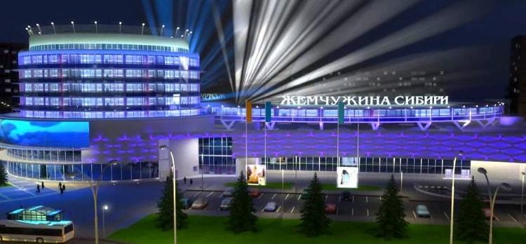 ТРЦ «Жемчужина Сибири» - крупнейший торговый центр в Cибири, открыт в городе Тобольске.