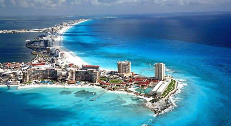 Канкун – один из самых крупных курортных городов Мексики.