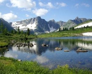 Кузнецкий Алатау — государственный природный заповедник.