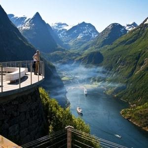 Самые главные и интересные достопримечательности городов Норвегии.