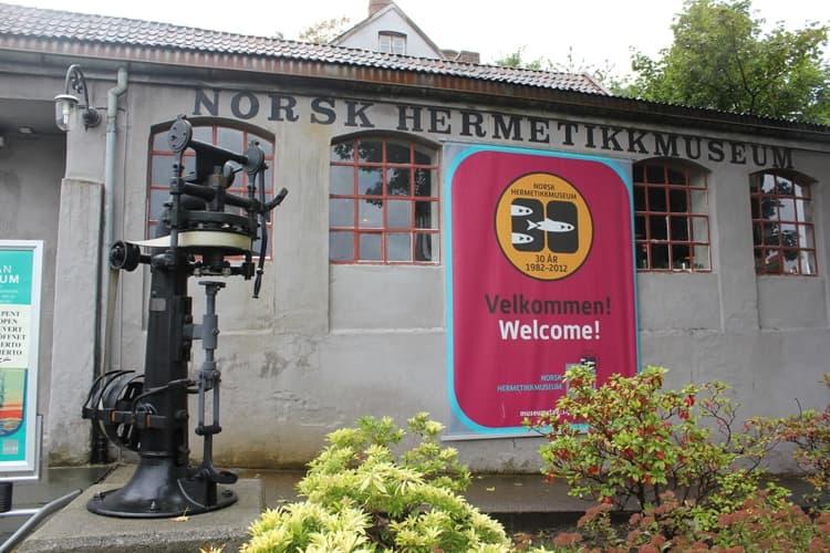 В норвежских городах функционирует великое множество музеев разнообразной тематики и направленности, например - музей консервов.