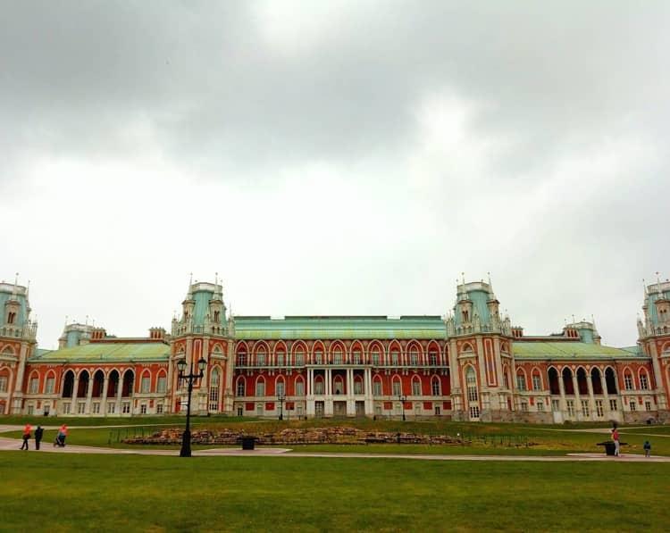 Большой дворец Казакова в царицыно музей заповеднике