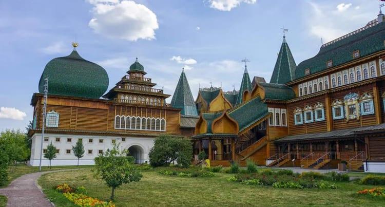 Дворец царя Алексея Михайловича в коломенском музей заповеднике