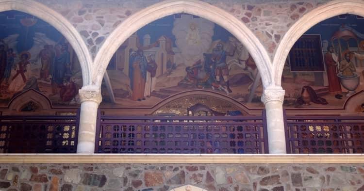 Росписи Георгиу Георгиоса в киккском монастыре