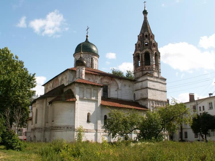 Церковь Николы Надеина в ярославском музей заповеднике построена в честь Николая Чудотворца