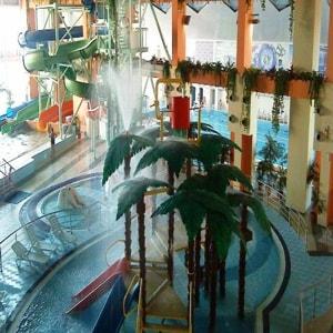 Аквапарк Водопад Чудес в Магнитогорске оснащен самым современным оборудованием