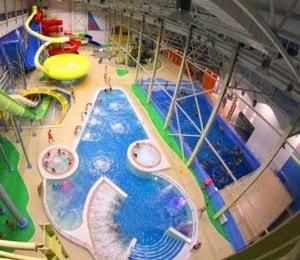 Акварио — это крупный крытый аквапарк в Омске.