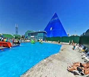 Очень интересный для детей аквапарк волжский