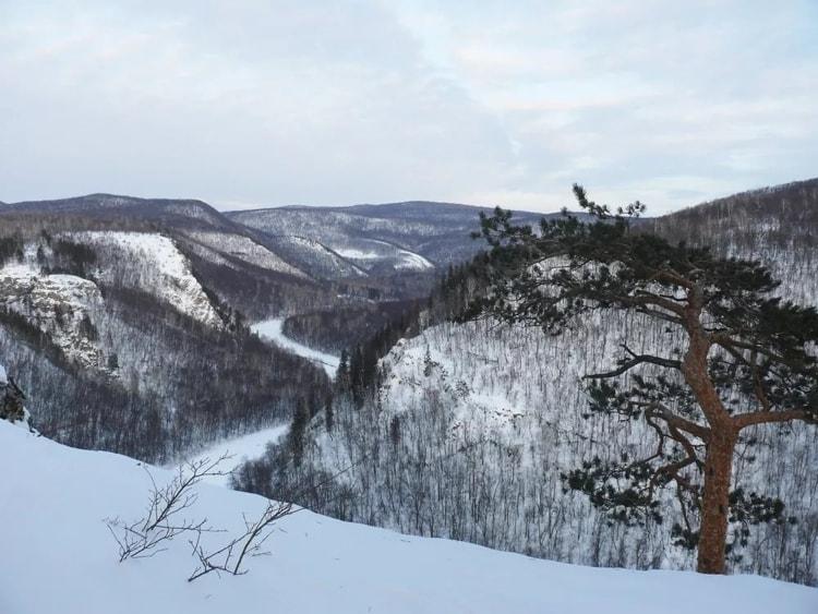 Зима в башкирском заповеднике