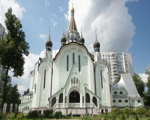 Храм воскресения христова в сокольниках - православный храм Воскресенского благочиния Московской городской епархии