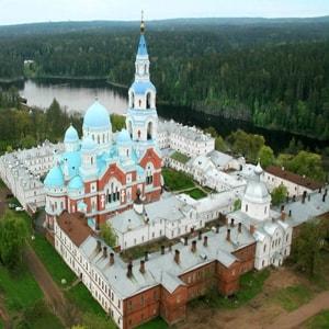 Где находится Валаамский монастырь - на карте, как доехать, где находится