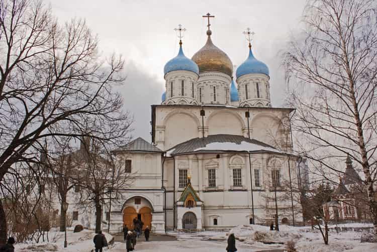 Преображенский собор в новоспасском монастыре - один из символов не только обители, но и всей столицы