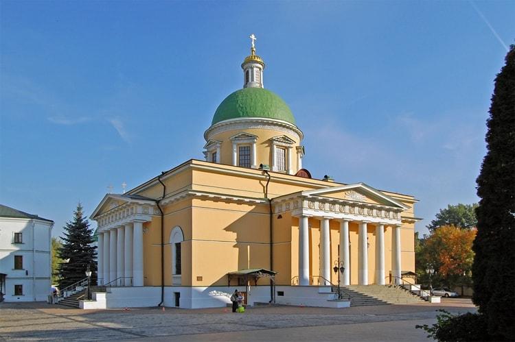 Троицкий собор – один из центральных храмов Даниловского монастыря