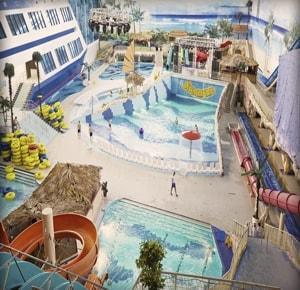 Аквапарк Лимпопо в городе Екатеринбург привлекает людей своим комфортом и наличием многих аттракционов