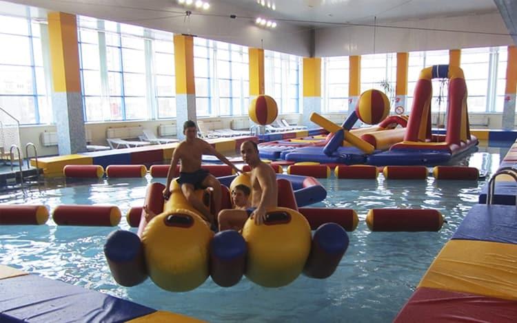 Аквапарк Лимпопо в городе Екатеринбурге богат на разные аттракционы