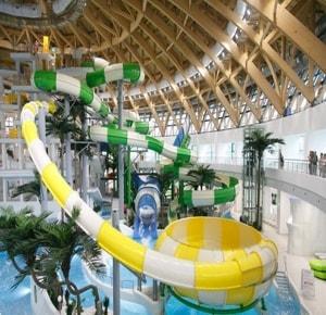 Аквапарк в Новосибирске очень порадует вас наличием развлечений и услуг
