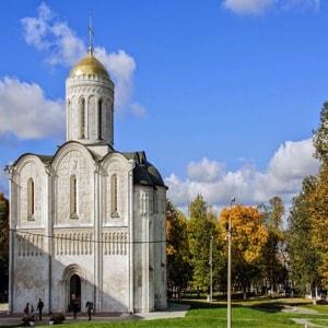 Дмитриевский собор во Владимире — белокаменная поэма, придворный храм Всеволода
