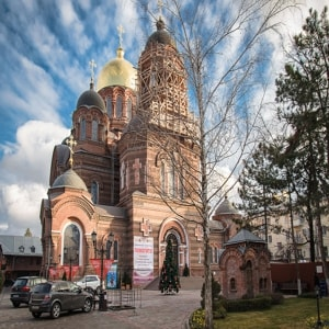 Екатерининский собор Краснодар - кафедральный храм Екатеринодарской и Кубанской епархии