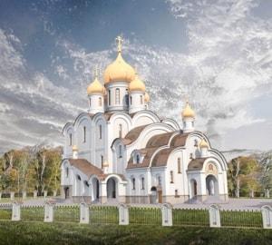 Храм Матроны Московской на ул Софьи Ковалевской и ее строительство