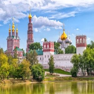 Новодевичий монастырь — один из самых красивых монастырей Москвы