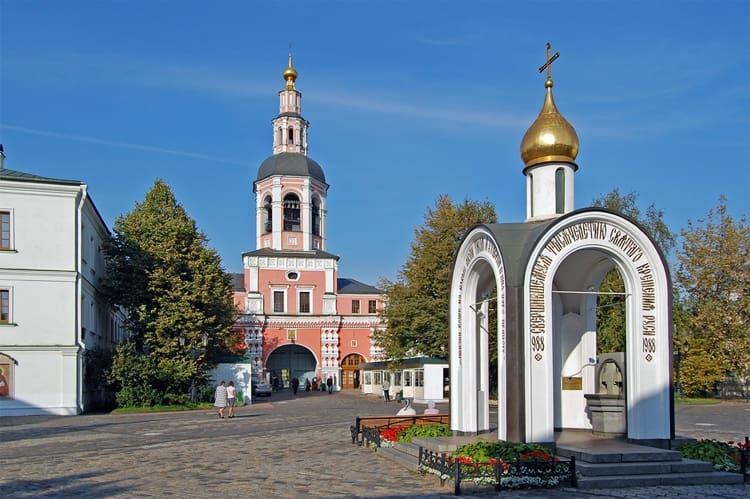 Даниловский монастырь - там восстановили обитель к тысячелетию Крещения Руси
