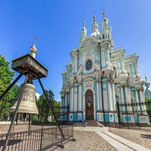 Смольный собор — православный храм Санкт-Петербурга