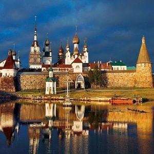 Соловецкий монастырь со всеми достопримечательностми