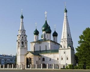 Церковь Ильи Пророка в Ярославле - жемчужина местной школы зодчества