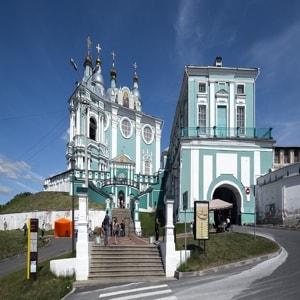 Успенский собор города Смоленск - один из самых почитаемых храмов России