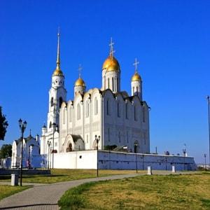 Успенский собор во Владимире — белокаменный шедевр Древней Руси