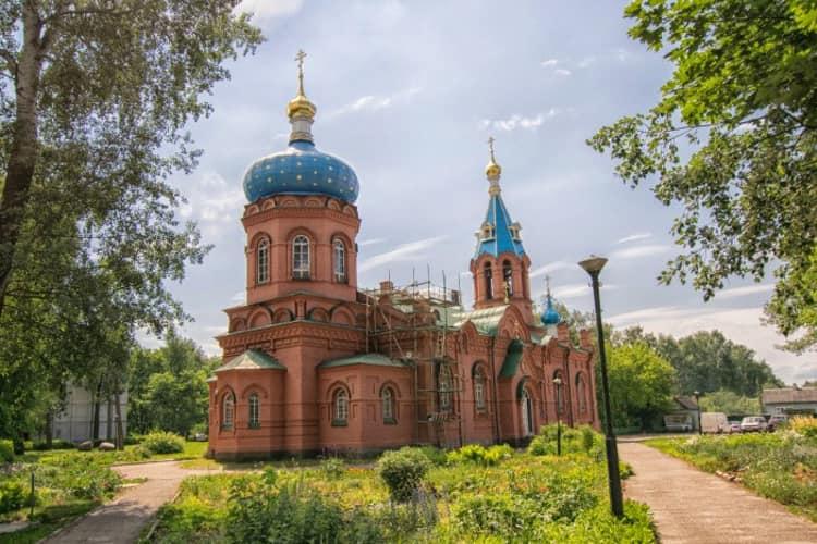 Псков и его достопримечательности - Храм Александра Невского